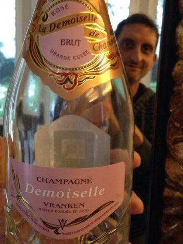 Demoiselle Champagne Vranken Rosé brut