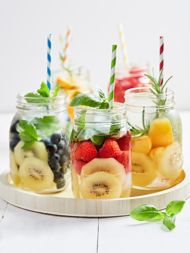 De lekkerste combinaties van water met fruit