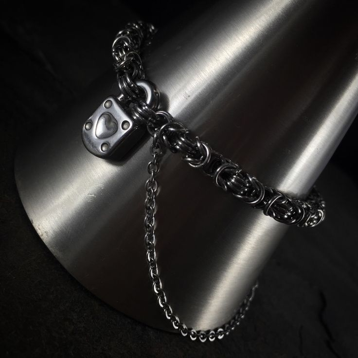 A personal favorite from my Etsy shop https://www.etsy.com/listing/217407548/stainless-steel-silver-heart-lock-key