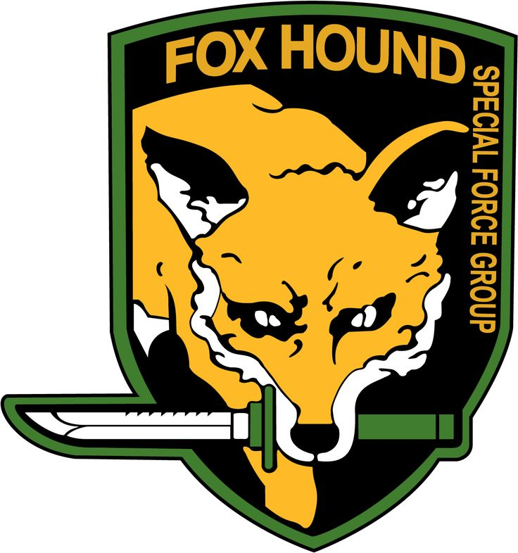 Foxhound emblem from the game Metal Gear Solid