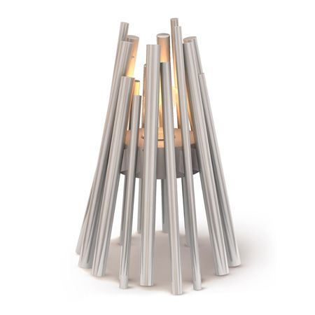 Stix Outdoor Bioethanol Fireplace (brushed Stainless)