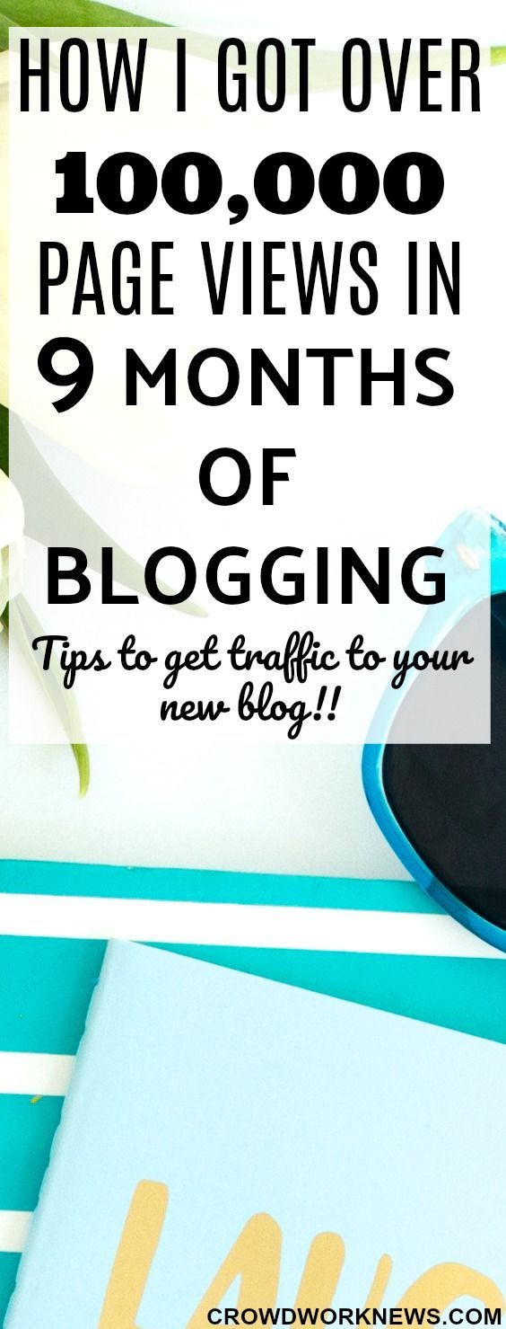 I know getting traffic is the biggest challenge especially when your blog is new. I followed some simple tips to get over 100,000 page views in only 9 months of blogging. Check them out and start getting loads of traffic to your blog!!