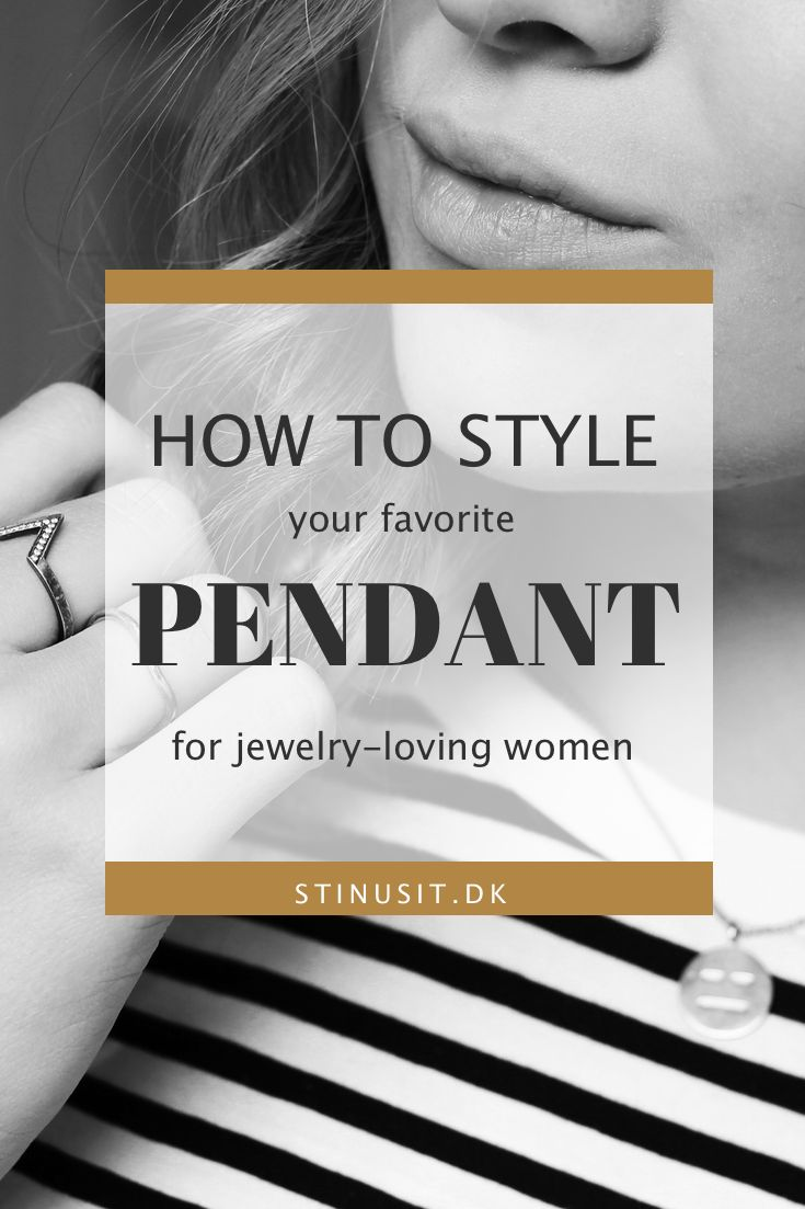 How to style your favorite pendant | Wan't to learn how to style your favorite pendant? Let me and my favorite stylist inspire you! Sign up to my newsletter if you wan't more style guides: http://signup.stinusit.dk  stinusit.dk | fashion and travel to you