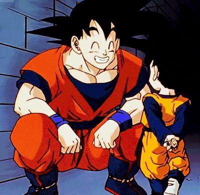 Goku and Goten.