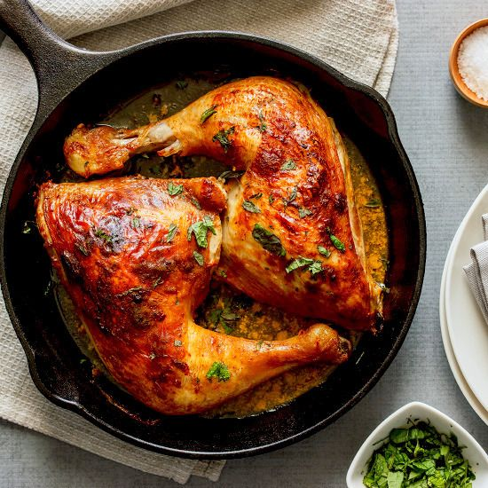 A simple yoghurt marinade transforms chicken into something delicious and warming