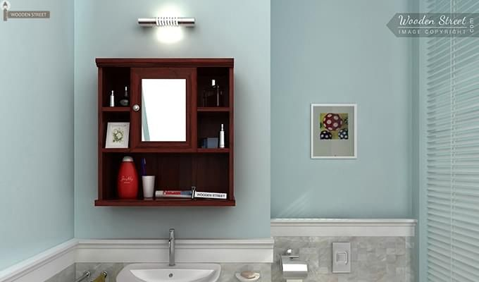 Buy  Bathroom Cabinets: Classic Bathroom Cabinets, available at the Woodenstreet. Browse  Bathroom Cabinets from a great selection of woodenstreet India Online.