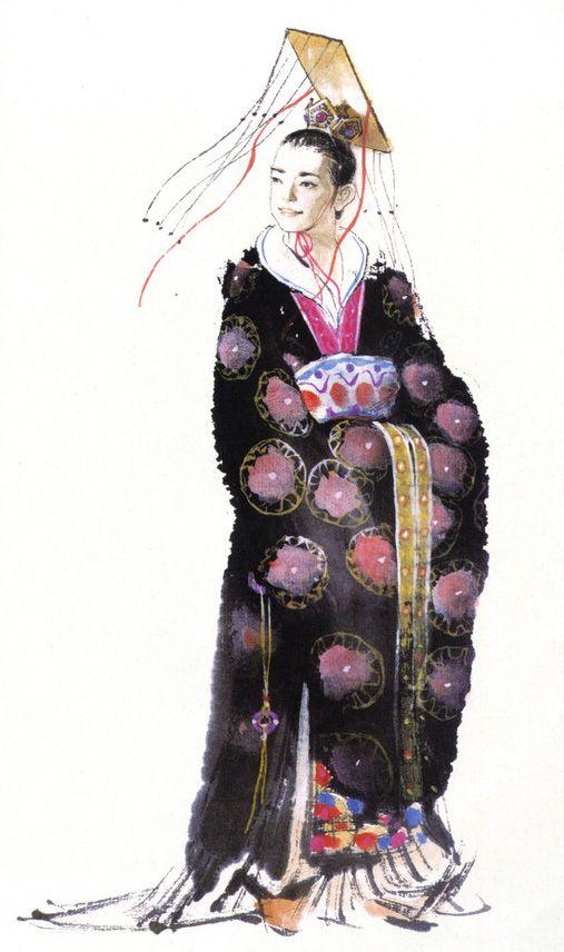 illustration   獻帝   三國志 Three Kingdom   Chen Uen 鄭問   Kung fu martial arts, Art, Asian art
