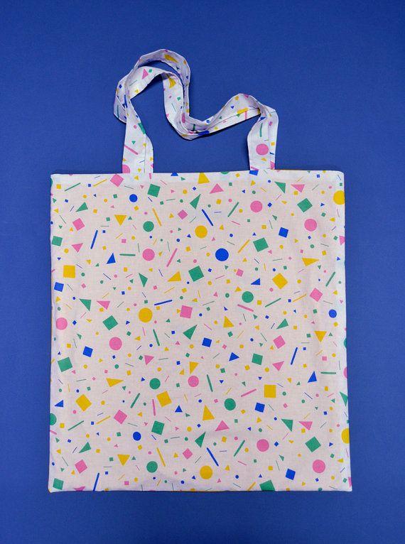 Sac de plage Sprinkles 80s 90s pattern