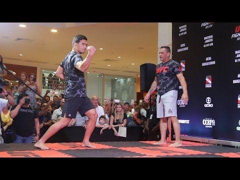 MMA Lyoto Machida Shows Off Karate Skills at UFC Belem Workouts  - MMA Fighting
