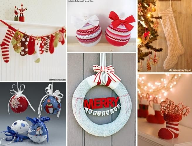 51 best images about navidad on pinterest christmas for Decoraciones navidenas faciles de hacer