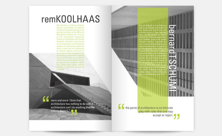 Editorial layout repin by pinterest for ipad book for Architectural design magazine