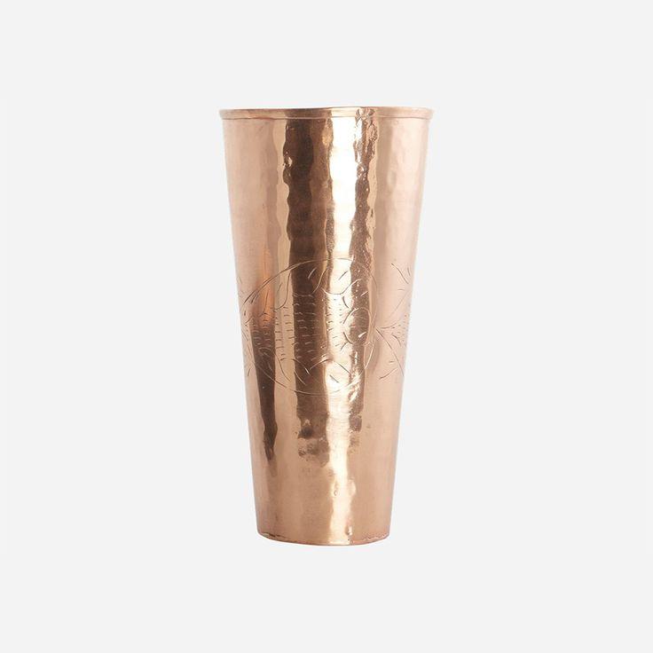 Dely Vase, Copper - House Doctor - House Doctor - RoyalDesign.com #vase #vases #vas #koppar #copper #housedoctor #royaldesign