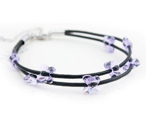 NINABOX® – Bracelet corde femme fille papillon Bijoux fantaisie Cristal Swarovski Eléments violet Cadeau pour nouveaux diplômés 16 cm – Réf. BAG2678P - See more at: http://bijoux.florentt.com/jewelry/bracelets/ninabox-bracelet-corde-femme-fille-papillon-bijoux-fantaisie-cristal-swarovski-elments-violet-cadeau-pour-nouveaux-diplms-16-cm-rf-bag2678p-fr/#sthash.t2bPB96E.dpuf