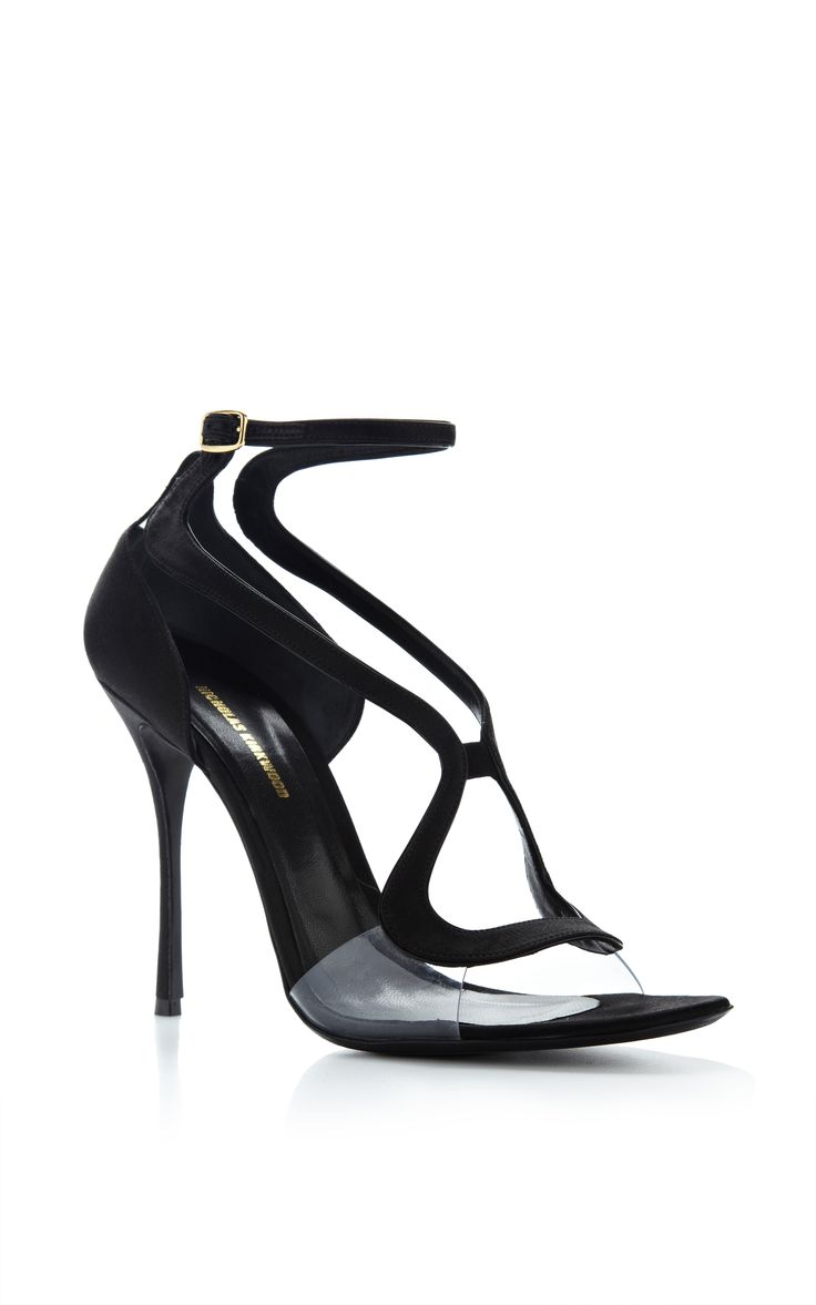 Double Strap Satin and PVC Sandals by Nicholas Kirkwood - Moda Operandi. High  Heels ...