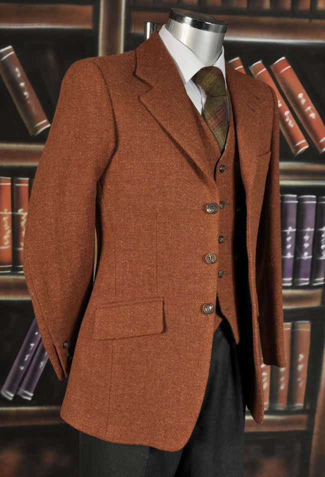 ginger harris tweed wc and jacket