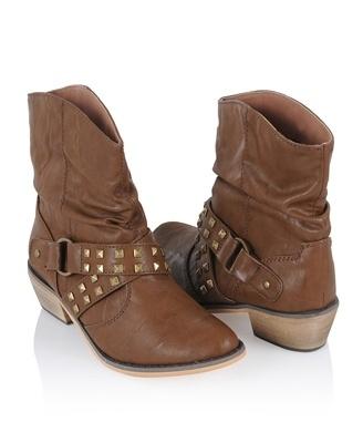 Studded Ankle Boots - Shoes - Casual - 2078966528 - Forever21 - StyleSays