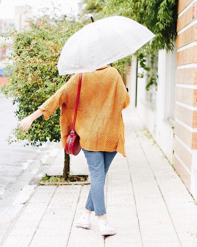 Não me lembro de um verão tão bom como esse: muitos dias de guarda chuva e suéter quentinho