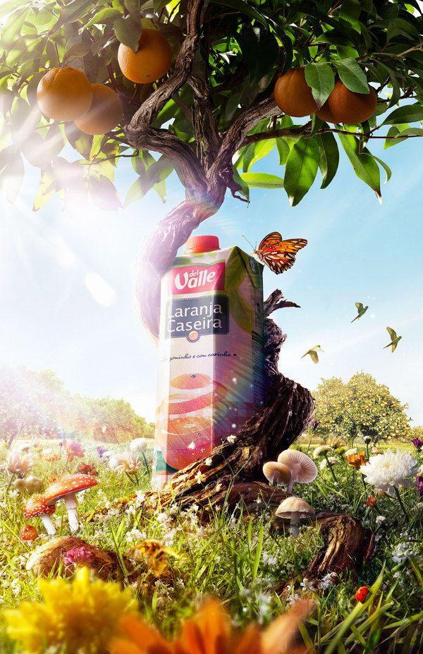Organic Juice on Behance