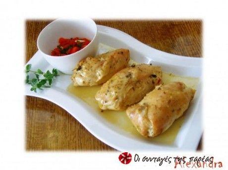 Κοτόπουλο γεμιστό 2