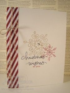 Endless Wishes Photopolymer stamp set, Christmas Card, Card Making, Jenny Peterson, Stampin' Up! Demonstrator
