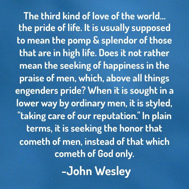 Spiritual Idolatry by John Wesley (1703-1791)