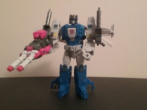 Transformers Titans Return Autobot Highbrow with Xort Deluxe Figure Review (Wave 2)