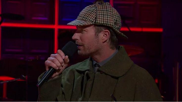 See Luke Bryan and Dierks Bentley Wearing British Costumes on 'Corden' #headphones #music #headphones