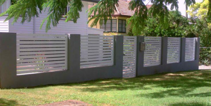 Best 25 aluminium fencing ideas on pinterest modern for Pool fence design qld