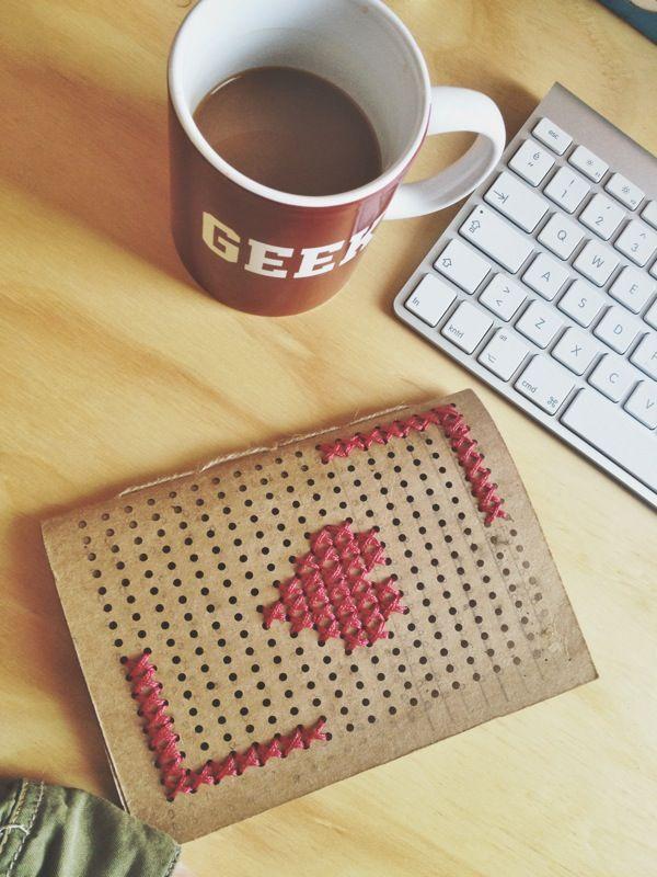 handmade notebook.