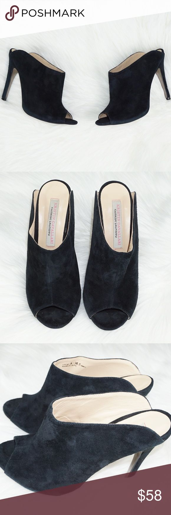 """Kristin Cavallari Chinese Laundry Lucky Heels Size: 8 Condition: Pre-owned; Excellent! Measurements: Heel Height 5""""  Please check out my other designer items! Chinese Laundry Shoes Heels"""