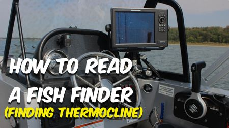 How to read your fish finder and find the thermocline so for How to read fish finder