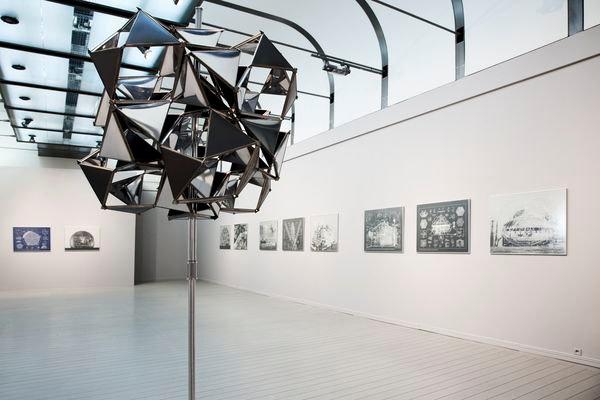 "Wystawa Richarda Buckminstera Fullera ""Synergetic Artist"" (2010) / Richard Buckimster Fuller's exhibition ""Synergetic Artist"" (2010)"