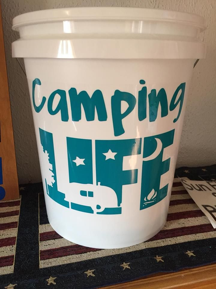 5 Gallon Led Camping Bucket Halloween Bucket Check Out The Video