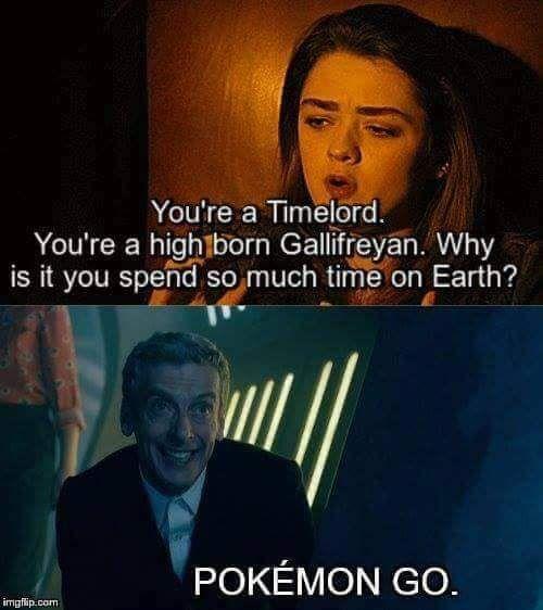 It all makes sense now #pokemon #doctorwho
