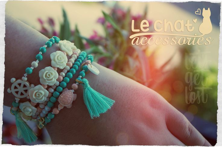 Handmade Bracelets  © Danae Lolou  Find me on Facebook & Instagram : Le Chat Accessories for more photos. https://www.facebook.com/lechataccessoriesdanae/  https://www.instagram.com/lechataccessories/