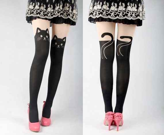 These Cat Tights Are Super Purrrty