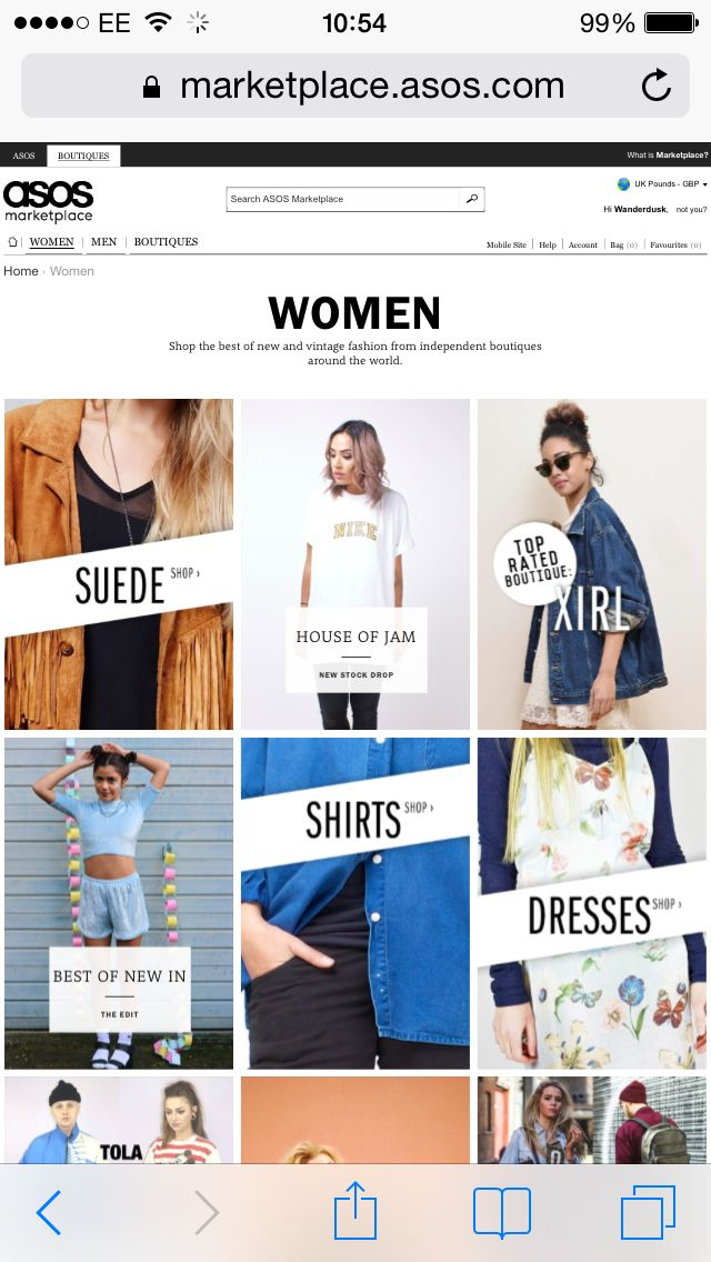 Wanderdusk will soon be a boutique on ASOS Marketplace!