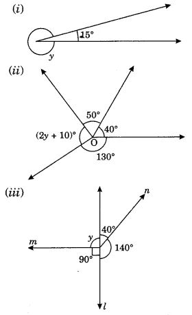 Lines and Angles Class 7 Extra Questions Maths Chapter 5