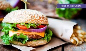 Groupon - Burger nach Wahl inkl. Pommes und Krautsalat für 1 oder 2 Personen im Frankys Restaurant & Bar (bis zu 44% sparen*) in Bad Soden am Taunus. Groupon Angebotspreis: 6,90€