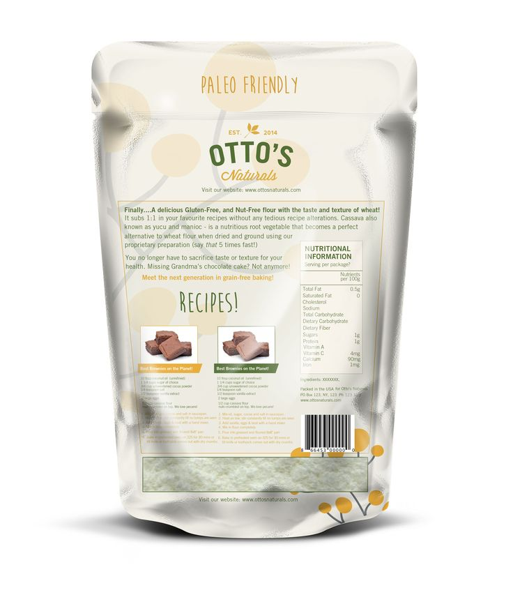 Finished off packaging for Otto's Naturals based on the partial front design another designer had done ready to take the product to market.   www.ottosnaturals.com