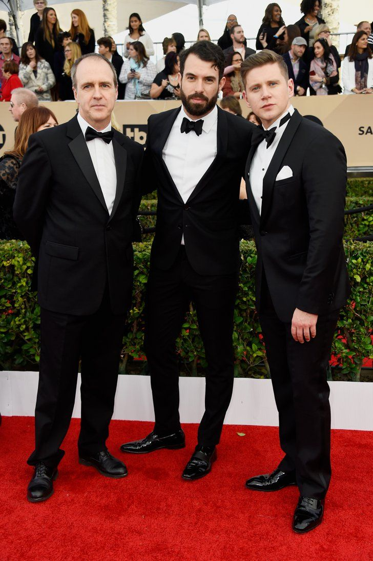 Pin for Later: British Stars Step Out For the Screen Actors Guild Awards Kevin…