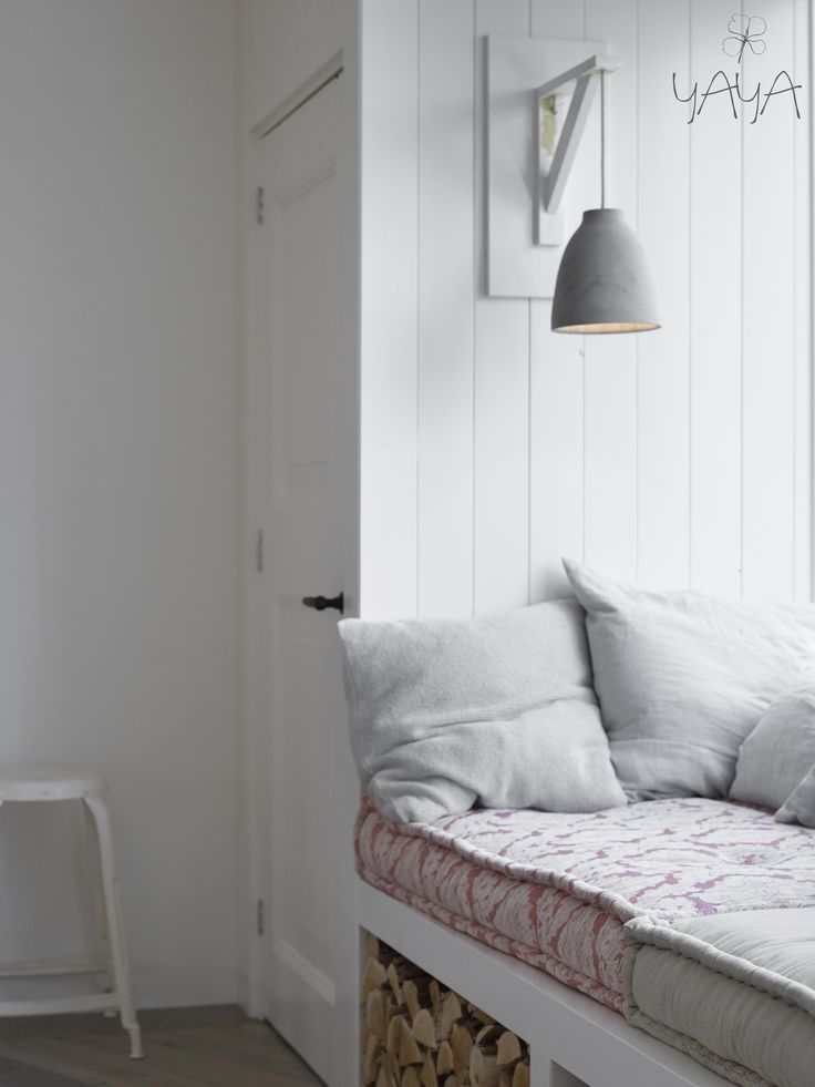 bedroom/office - build in closet, window seat, french tufted cushions, sconce light on wall #build