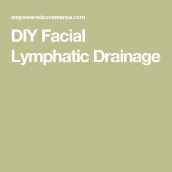 DIY Facial Lymphatic Drainage