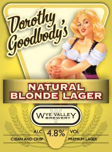 Dorothy Goodbody's Natural Blonde Lager- June  A beer in the style of a 'Kolsch' (a top-fermented German beer) with an exceptionally clean flavour and the crisp, floral qualities of Herefordshire Northdown and German Saaz hops. 4.8% ABV