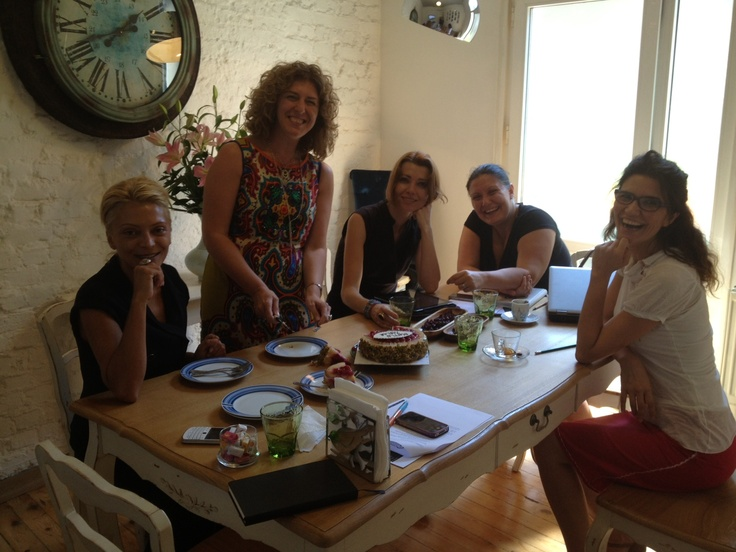 Celebrating my editor's birthday,   More power to women in the publishing/book world!!!