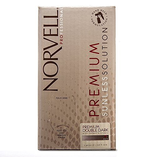 Norvell Premium Sunless Tanning Solution - Double Dark, Gallon/128 fl.oz.