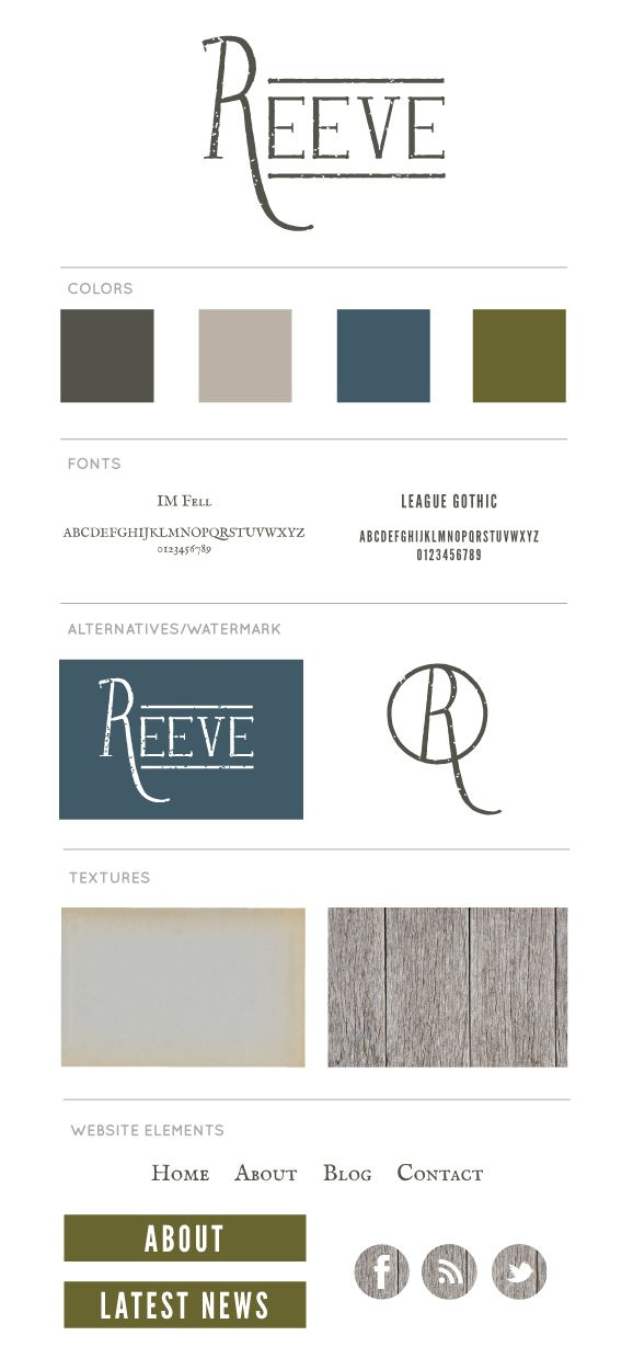 Reeve Logo & Branding