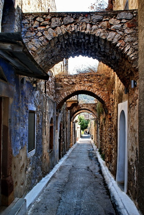 Hios Island, North AegeanGreece- I want to relish in European architecture...but more than that, I want to meet people and hear their stories!