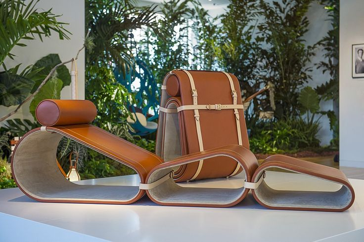 Marcel Wanders announces his Lounge Chair, as part of the Objets Nomades collection presented for occasion of Design Miami.