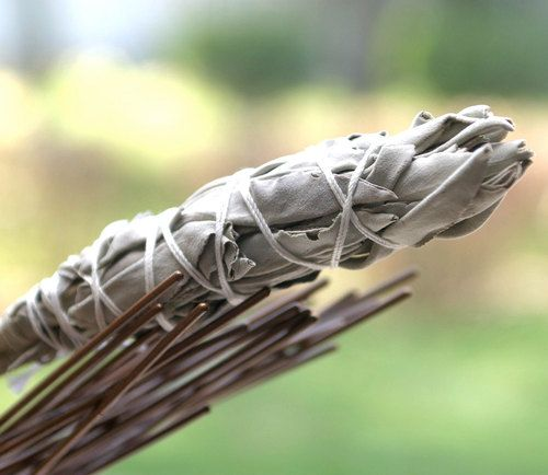 Add sage to an evening campfire to keep away bugs and mosquitoes!